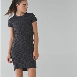 Lululemon &go Where-Dress, short sleeve.